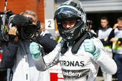 Gp Belgio 2014 - Qualifiche - Nico Rosberg - Mercedes AMG