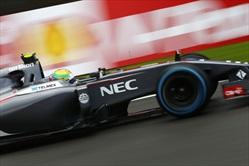 Gp Belgio 2014 - Qualifiche - Esteban Gutierrez - Sauber C33 Ferrari