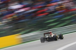 Gp Belgio 2014 - Qualifiche - Pastor Maldonad - Lotus E22 Renault