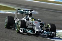La Mercedes punisce Rosberg - Rosberg