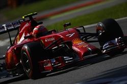 Kimi Raikkonen Ferrari F14T