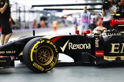 Gp Singapore 2014 - Qualifiche - Pastor Maldonad - Lotus E22 Renault