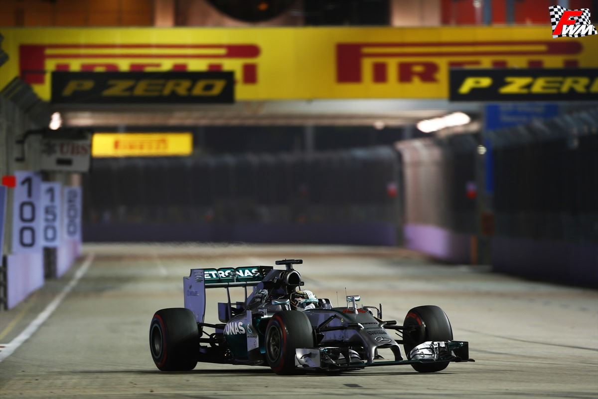 Lewsi Hamilton vince per la seconda volta il Gp di Singapore
