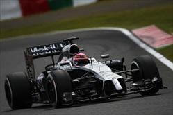 Gp Giappone 2014 - Post Qualifiche - Button - McLaren