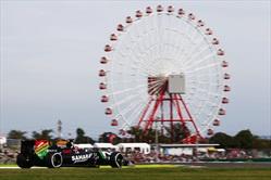 Gp Giappone 2014 - Post Qualifiche - Hulkenberg - Force India