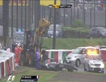 Incidente per Jules Bianchi