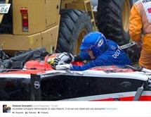 Prime immagini dell'incidente di Jules Bianchi