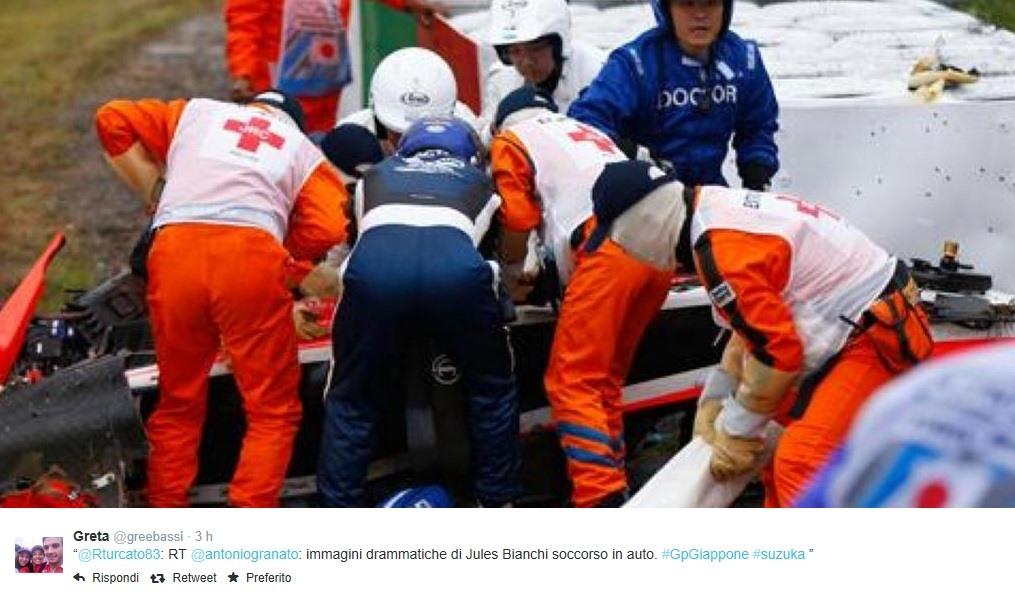Bianchi è uscito dalla sala operatoria
