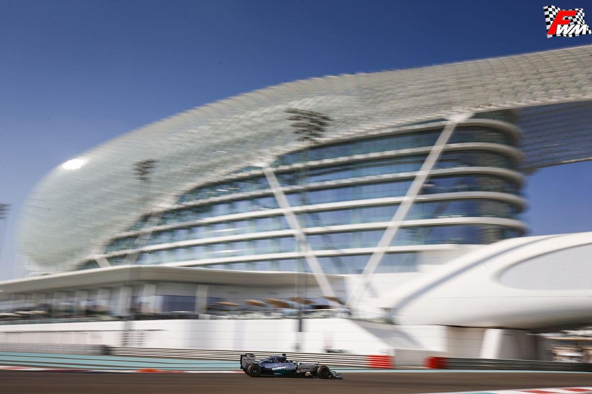Gp Abu Dhabi 2014 - Libere - Hamilton