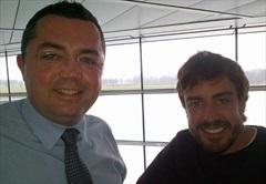 Alonso sarà in psta nel Gp di Malesia