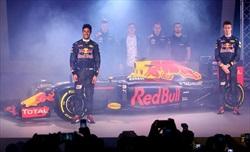 Red Bull: presentata la livrea 2016