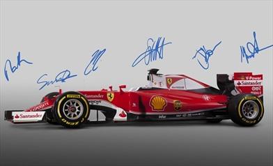 Presentata la Ferrari SF16-H