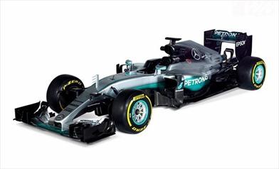 Presentata la Mercedes F1 W07 Hybrid
