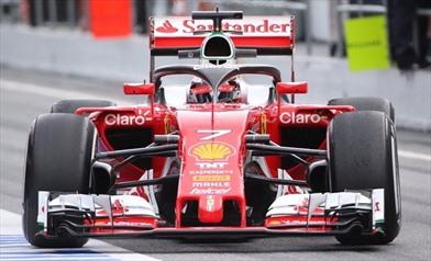 La Ferrari prova a sorpresa il nuovo sistema Halo
