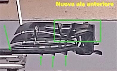 La McLAREN con una nuova ala anteriore  - La McLAREN con una nuova ala anteriore