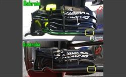 Una nuova ala anteriore per la Williams FW38 - Una nuova ala anteriore per la Williams FW38
