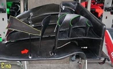 Ecco la nuova ala anteriore del Team Haas