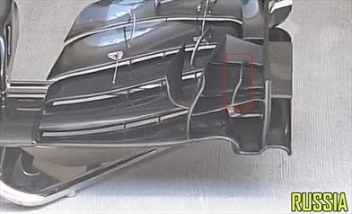 La Mclaren modifica l'ala anteriore