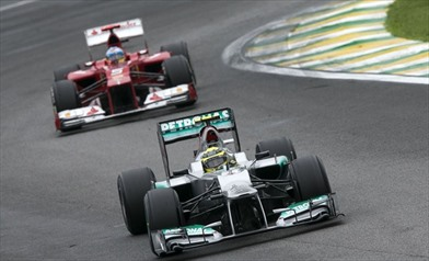 Gp Russia: prime libere a Rosberg - Mercedes Ferrari
