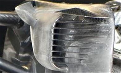 Gp Monaco: Mercedes continua a lavorare nella zona dei freni - Gp Monaco: Mercedes continua a lavorare nella zona dei freni