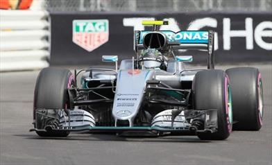 Gp Monaco: Mercedes W07 con la vecchia ala anteriore - Gp Monaco: Mercedes W07 con la vecchia ala anteriore