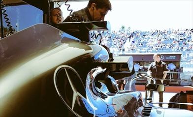 Hamilton: miglioramento notevole delle Ferrari