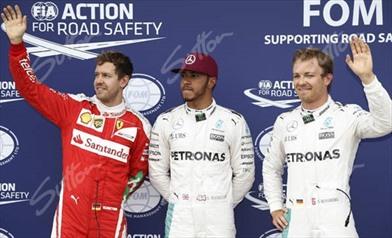 Gp Canada: in pole Hamilton ma Vettel è pazzesco