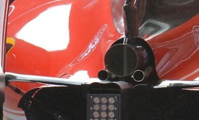 Ferrari SF16-H: l'ala posteriore flessibile non è irregolare