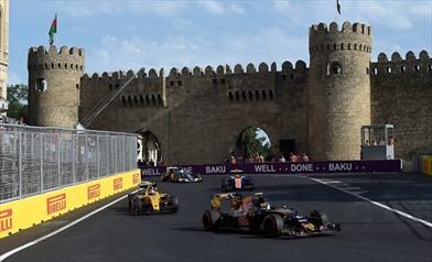 Gp Europa 2016 - Circuito bellissimo quello di Baku