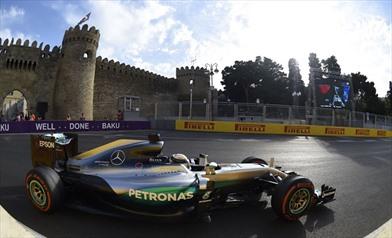 Gp Europa 2016 - Domina la Mercedes