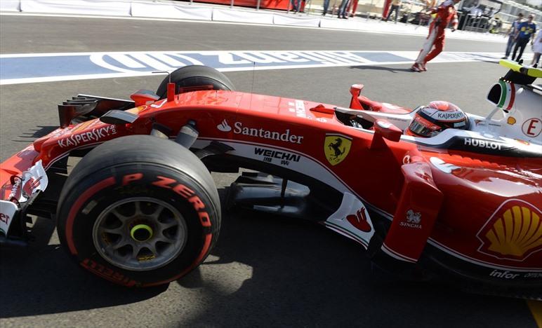 Gp Europa 2016 - Buon passo gara della Ferrari