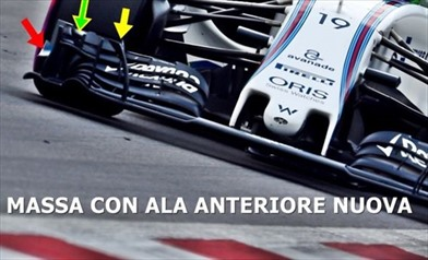 Gp Austria: Williams con una nuova ala anteriore