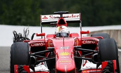 Gp Austria: La Pirelli indaga sull'incidente di Vettel