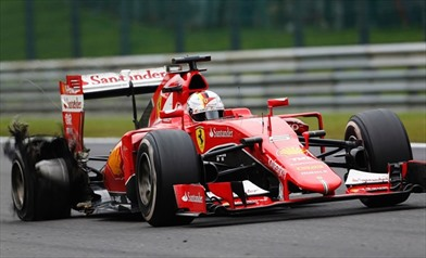 Gp Austria: La Pirelli indaga sull' incidente di Vettel - Gp Austria: La Pirelli indaga sull'incidente di Vettel