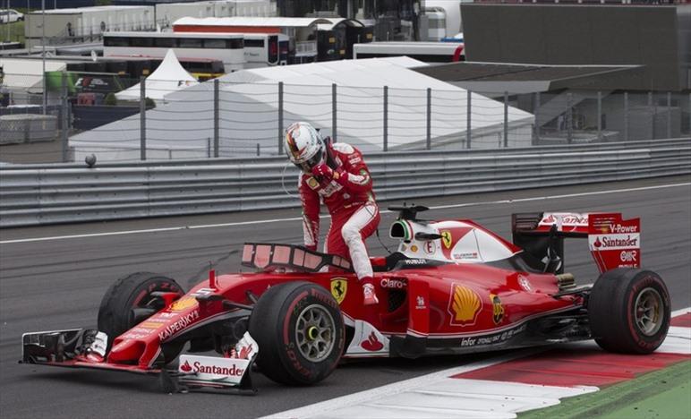 Concluse le analisi sul pneumatico di Vettel in Austria