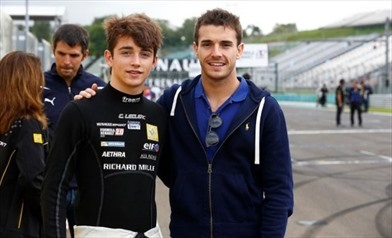 Bianchi e Leclerc, due talenti del Ferrari Driver Academy