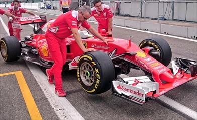 Gp Germania: la Ferrari 'scarica' la SF16-H