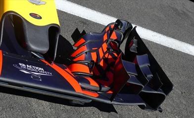 Gp Belgio: Red Bull con una nuova ala anteriore