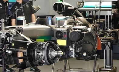Gp Belgio: Pronta al debutto la nuova Power Unit EVO Mercedes
