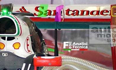 Gp Belgio: Ferrari con l'ala posteriore a basso carico di Baku - Gp Belgio: Ferrari con l'ala posteriore a basso carico di Baku