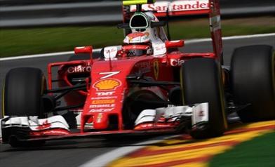 Gp Belgio: Raikkonen domina le 3/e libere - Raikkonen