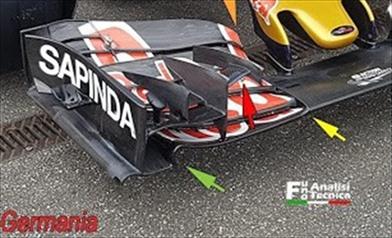 Gp Singapore: Toro Rosso con l'ala anteriore introdotta in Germania