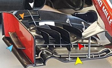 Gp Singapore: Ecco la nuova ala anteriore del team Haas