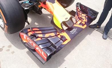 Gp Malesia: ecco il pacchetto aerodinamico della Red Bull RB12