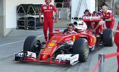 Gp Giappone: Ferrari controlla il cambio di Raikkonen