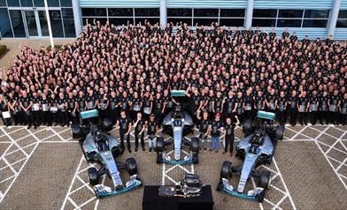 Le nuove regole resetteranno la F1 secondo Wolff