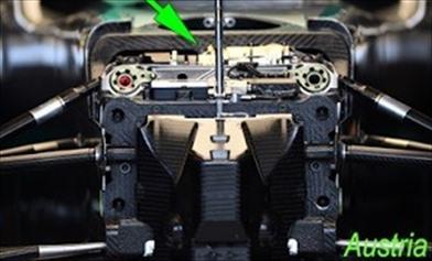 Gp Austin: sulla Mercedes di Hamilton montato il vecchio terzo elemento idraulico