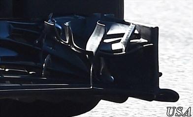 Gp Austin: la nuova ala anteriore Mclaren in ottica 2017