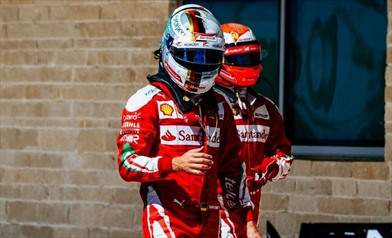Vettel e Raikkonen: siamo delusi