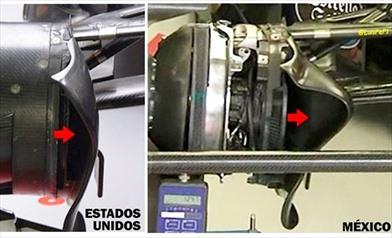 Gp Messico: la Toro Rosso apre le prese dei freni anteriori - Gp Messico: la Toro Rosso apre le prese dei freni anteriori